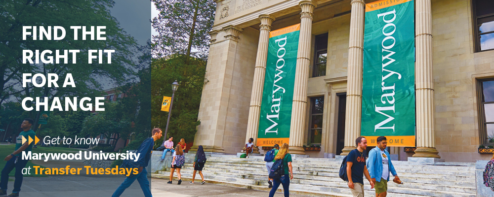 find the right fit for a change get to know marywood at transfer tuesdays
